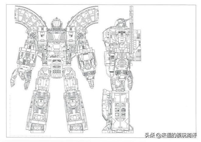 塞伯坦之戰 圍城 泰坦級 大力金剛 灰模圖