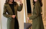 風衣女中長款韓版春季2017新款學生修身百搭風衣外套女春秋季大衣