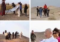 """58歲的六小齡童帶著唐僧師徒""""重走玄奘路"""",有網友看照片後哭了"""