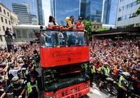 多倫多舉行猛龍奪冠慶典,超150萬人參加,突發槍擊案4人受傷