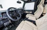 與奔馳G級AMG一較高下,是路虎唯一的一款吉普車,被軍隊廣泛應用