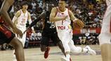 中國男籃參加夏季聯賽與NBA熱火隊比賽圖集