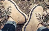 穿上時尚個性的復古馬丁靴,彰顯男兒硬漢本色