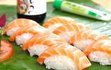 日本料理壽司:三文魚壽司