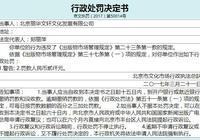北京麗華文軒文化公司違反出版物市場管理規定被處罰
