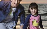 吳尊和吳欣怡,父女合影,看看多像,這就是基因