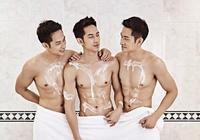 亞洲最帥的三個男人,認同嗎?