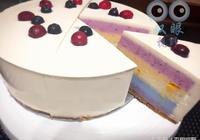 「做蛋糕」拒絕人工色素食材 彩虹乳酪蛋糕 天然無色素添加