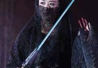 女星穿黑衣古裝蒙面,蔣欣像個俠客,趙麗穎又美又神祕!