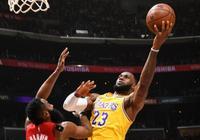 NBA最新排名,湖人拒橫掃追第8,第4甩開火箭,勇士追聯盟第1