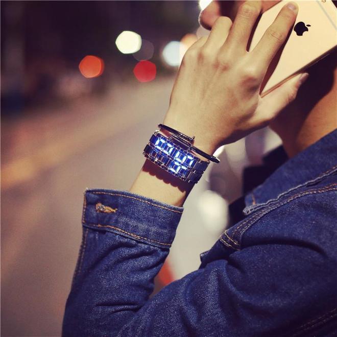 新潮夜光手錶,方便實用還顏值高哦