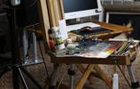 湖北著名寫實油畫家張青作品
