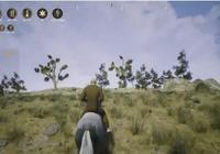 在冒險沙盒遊戲《西部狂徒》中,野獸比人更可怕,主播都差點遇害