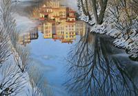 保加利亞畫家Kiril Stanchev風景油畫