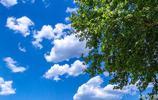 藍天白雲 商洛最美