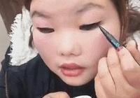 金高銀眼妝的祕訣如此簡單,早知道周冬雨就不用去做雙眼皮了