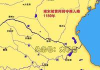 圖說淮河入海通道,淮河70%以上的水量流入了長江