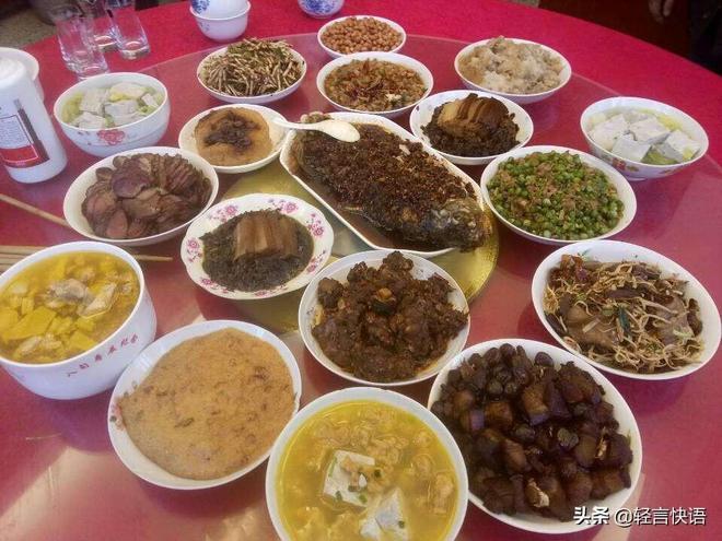 中國春節忘不了的年夜飯,8張貴州農村人的傑作,你喜歡哪一桌?