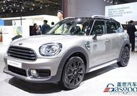 2017款MINI JCW Countryman亮相上海車展