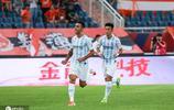 山東魯能泰山3-1大勝廣州富力,費萊尼連續三場破門