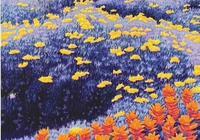 繁花似錦的原野 | 美國藝術家戈登·莫特森版畫作品欣賞