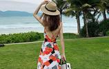 """海邊度假,你需要一款""""風情沙灘裙"""",顯瘦遮肉美得挪不開眼~"""