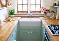 廚房不想看黑白灰了,以後有房子這樣裝,好看又幹淨易打掃!