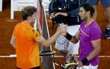 網球——馬德里公開賽:納達爾晉級半決賽