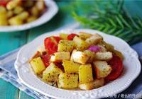 中西結合美食做法:蒜香吐司塊