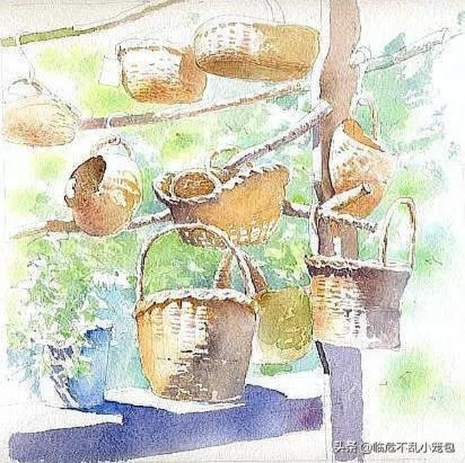 福井良佑的水彩風景 比真的還美