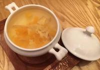 糖水:哈密瓜玉竹雞蛋糖水