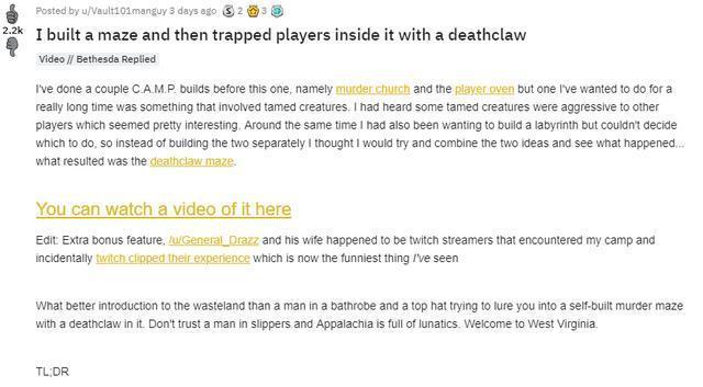 這遊戲玩家有多心機?自己建了個迷宮騙別人進去 裡面全是假門!