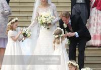 英王室又出一個美女新娘!穿白紗像極了伊萬卡,氣質不輸凱特王妃