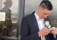 林書豪為訓練師當伴郎!婚禮上帥氣搶鏡,和漂亮伴娘互動搞怪