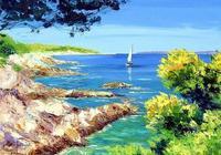 法國畫家Jean Marc Janiaczyk油畫作品