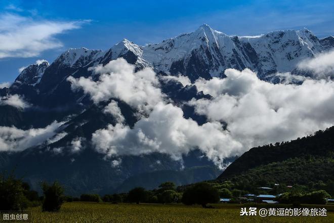 """實拍:被稱為""""雲中天堂""""的南迦巴瓦!只需一眼就會讓人情定終生"""