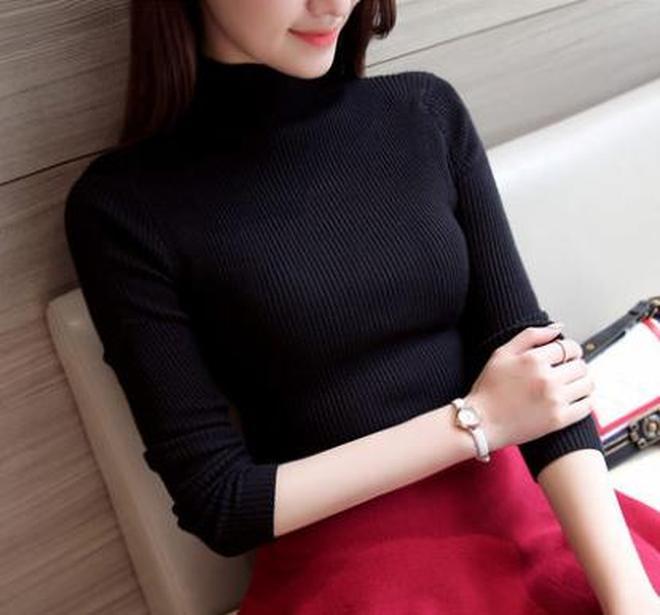 秋天到了女生們該怎麼穿搭,一件好的針織衫讓你顏值翻倍