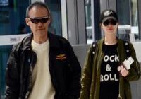 68歲王石與小30歲嬌妻田樸珺現身機場,兩人打扮年輕全程熱聊