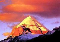 岡仁波齊峰是史前金字塔嗎?