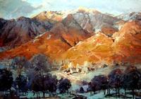 美國畫家史帝夫·索戈 Steve Songer 風景油畫作品