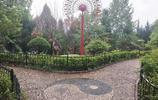 商洛這個縣是陝西五大林區之一,縣城有一座秀美的自然景觀公園