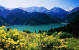 美麗的新疆天山天池