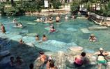 境外旅遊遊記 棉花堡溫泉池遊玩 喜歡游泳玩耍的遊客再適合不過了