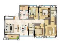 廣州保利星海小鎮聯排,超高層改善房三居 201萬/套起