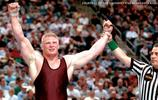 WWE明星布洛克·萊斯納的運動史:照片
