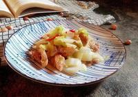 五花肉炒大白菜