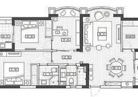123平米簡約美式風格四居,輕奢現代元素營造浪漫溫馨的美宅