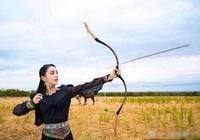 盤點女明星射箭劇照,楊蓉古靈精怪,佟麗婭民族風無人能比
