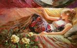 優雅柔美,俄羅斯畫家Vladimir Volegov人物油畫欣賞