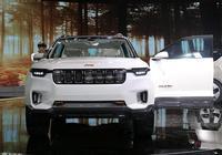 Jeep雲圖概念車亮相上海車展